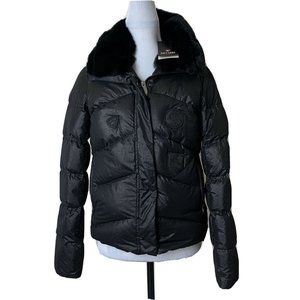 Postcard Womens Down Puffer Jacket 42 6 Italy Made